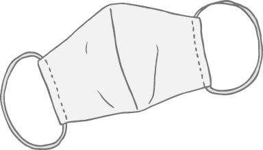 Pointed Face Mask 03