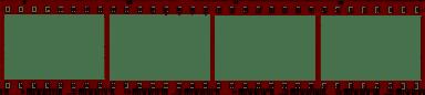 Overexposed Film Strip