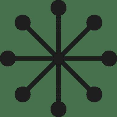 Minimalist Snowflake