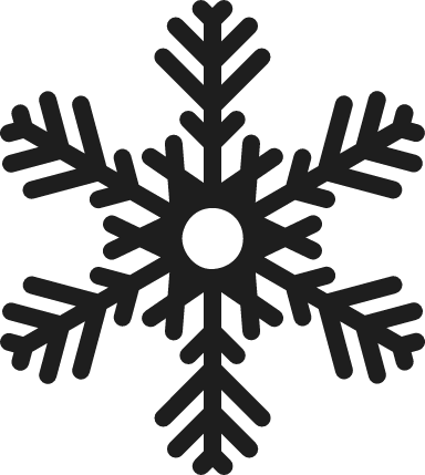 Rounded Arrows Snowflake