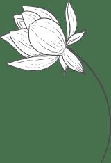 Curved Stem Flower