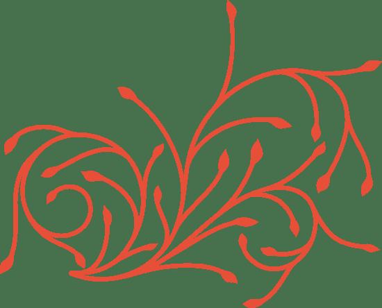 Spindly Flourish