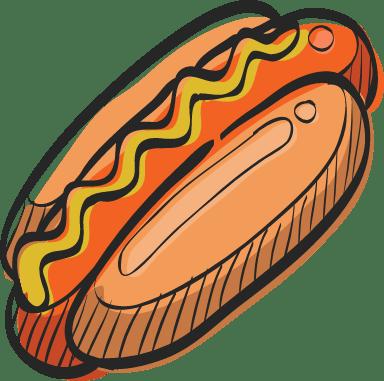 Stadium Hot Dog