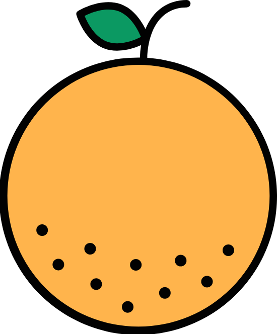 Outlined Orange