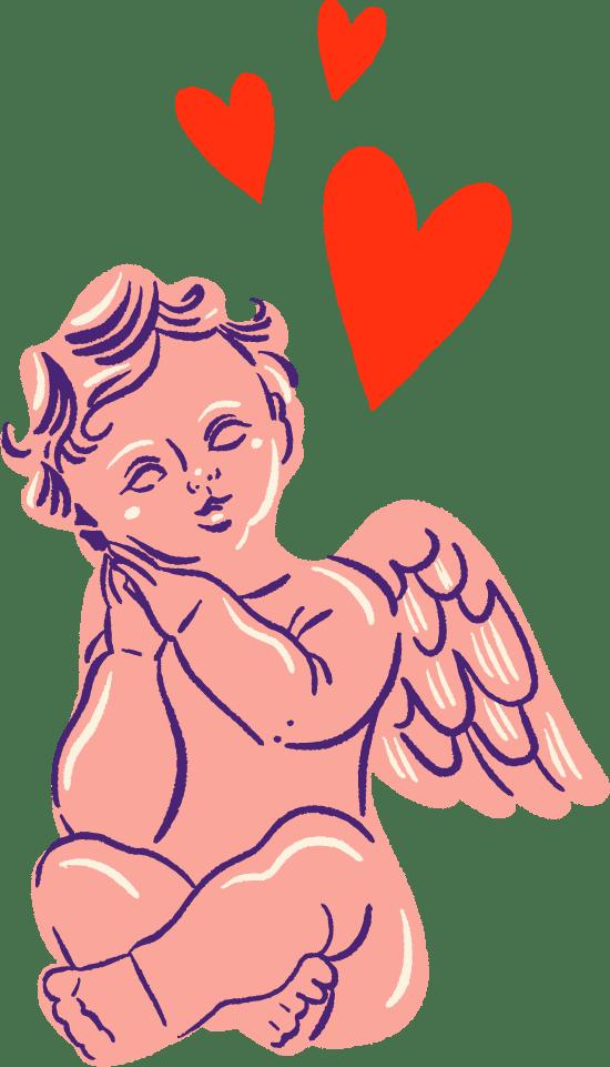 Cupid & Hearts