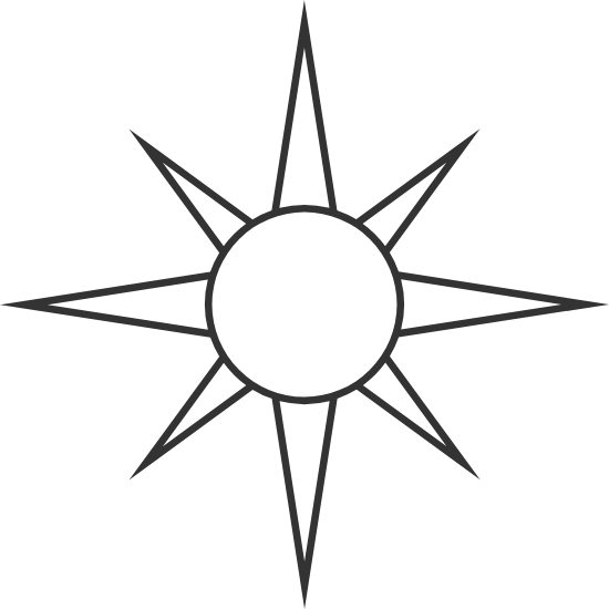 Geometric Windrose