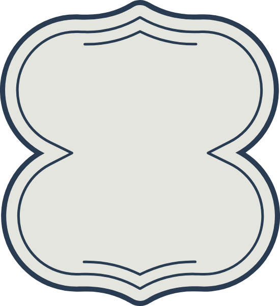 Hourglass Decal