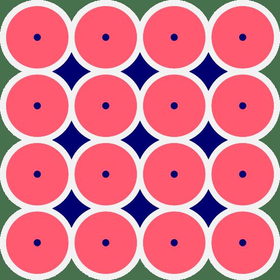 Sixteen Circle Form