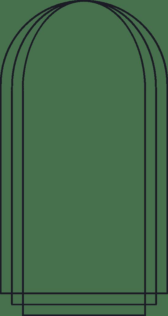 Arched Line Frame