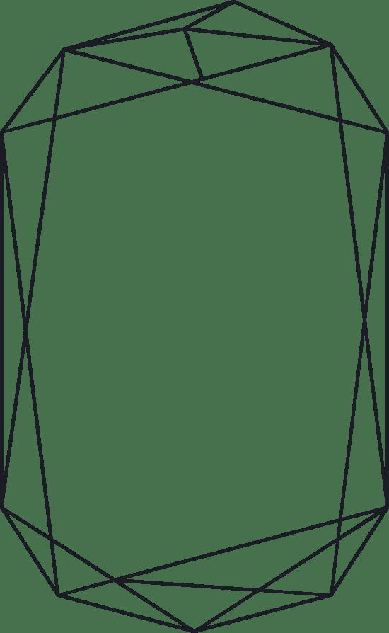 Uneven Line Frame