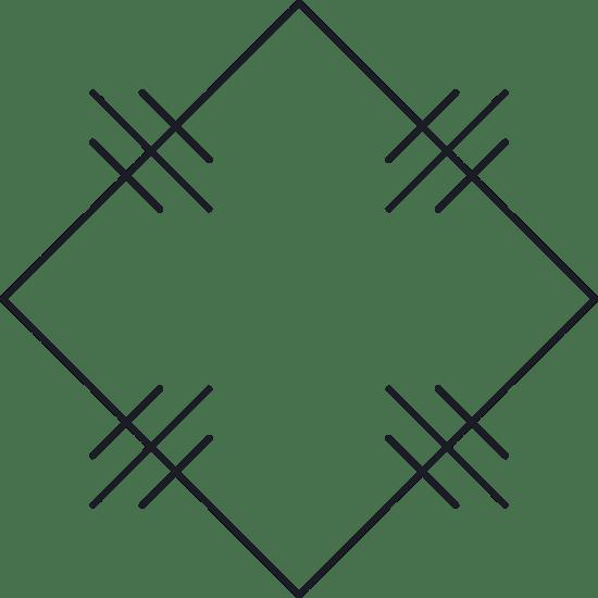 Back Square Glyph