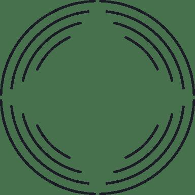 Negative Arched Glyph