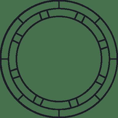 Inset Rings Glyph