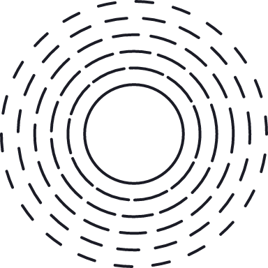 Radiating Circle Glyph