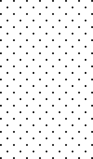 Spaced Dot Pattern