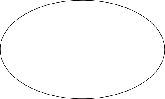 Thin Oval