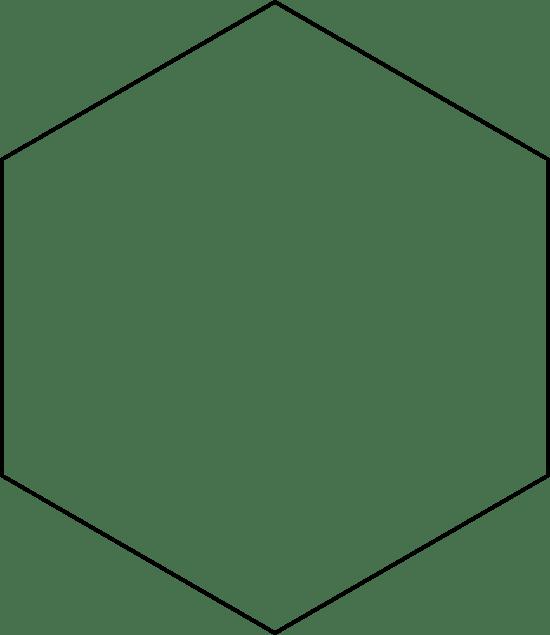 Thin Hexagon