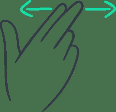 Two-Finger Swipe