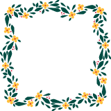 Flowered Frame