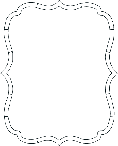 Drawn Bracket Frame