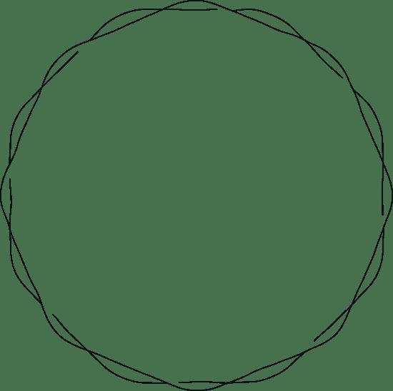 Drawn Circle Frame