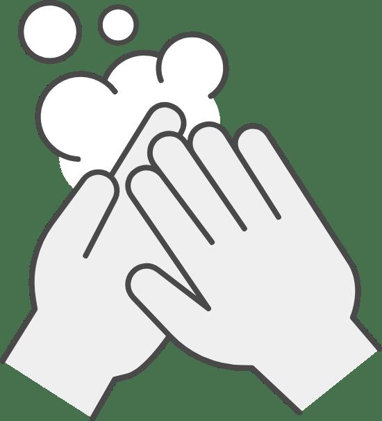 Soap & Water Handwashing