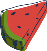 Sketched Watermelon