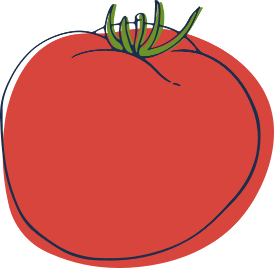 Sketched Tomato