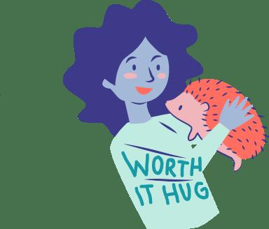 Worth It Hug