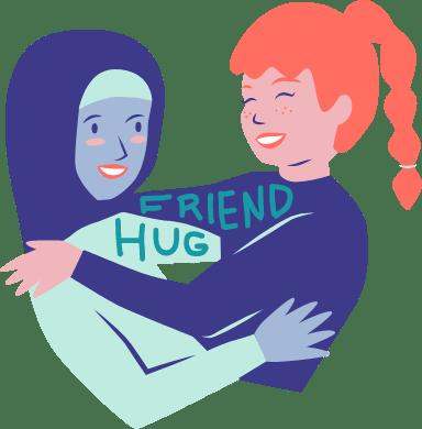 Friend Hug