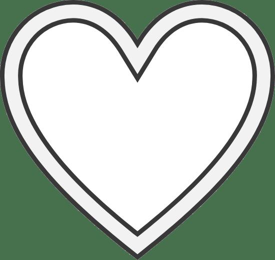 Inset Heart