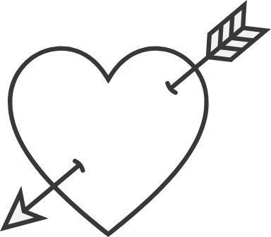 Down Arrow Heart