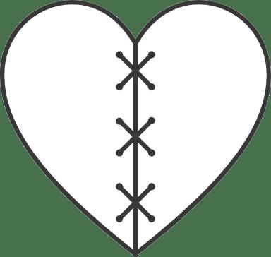Sewn Up Heart