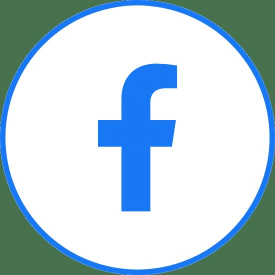 Circle Blue Facebook