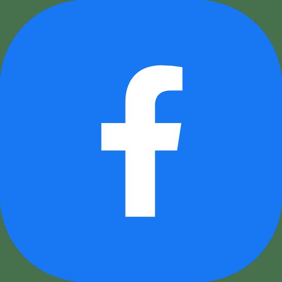Solid Blue Facebook