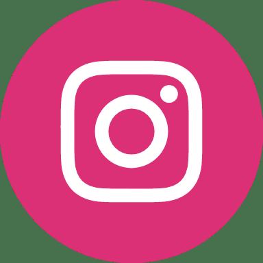 Round Red Instagram