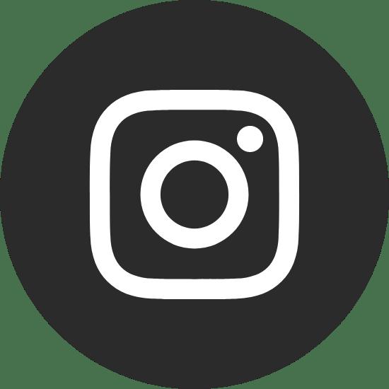 Round Black Instagram