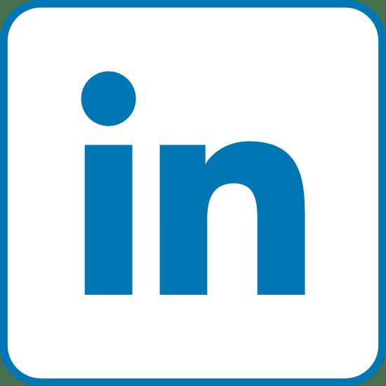 Edged Blue LinkedIn