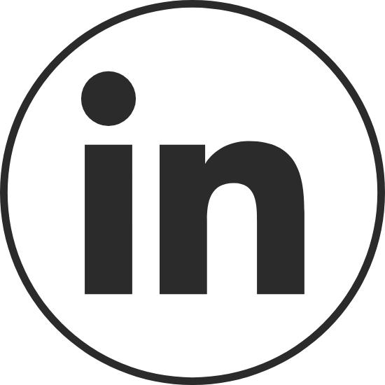Circle Black LinkedIn