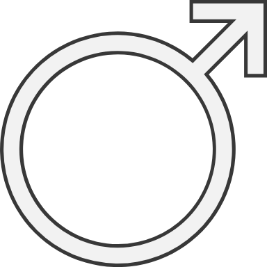 Inset Male Sign