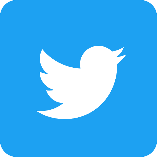 Blocky Blue Twitter