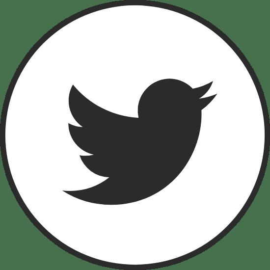 Circle Black Twitter