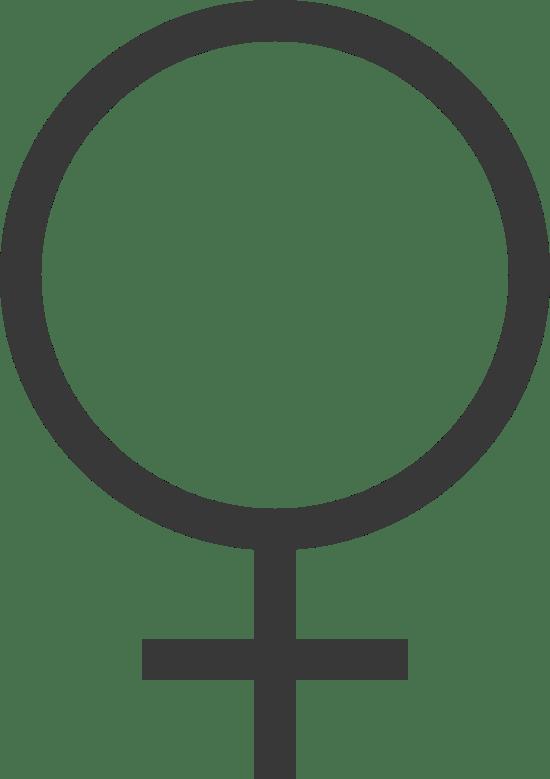 Standard Female Sign
