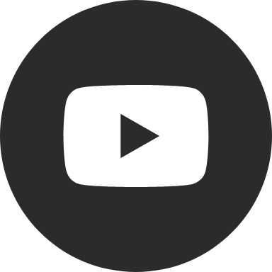 Round Black YouTube