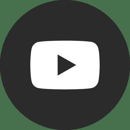 Round Black YouTube