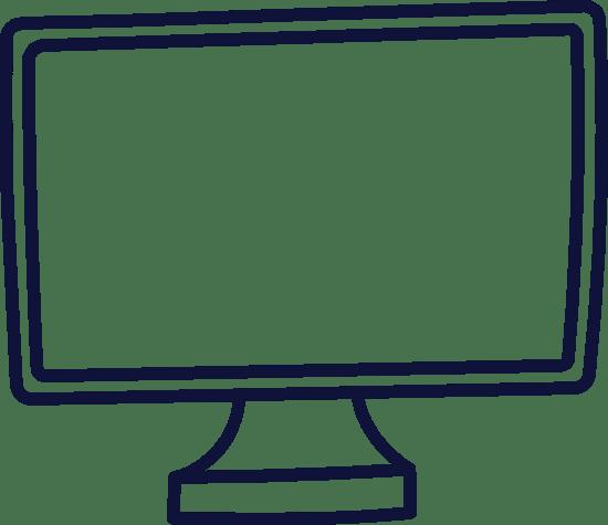 Plain Computer Monitor
