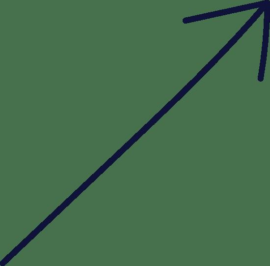 Plain Diagonal Arrow