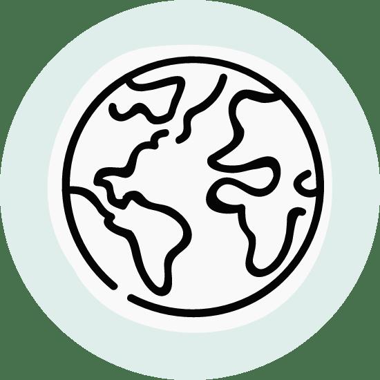 Basic World Globe