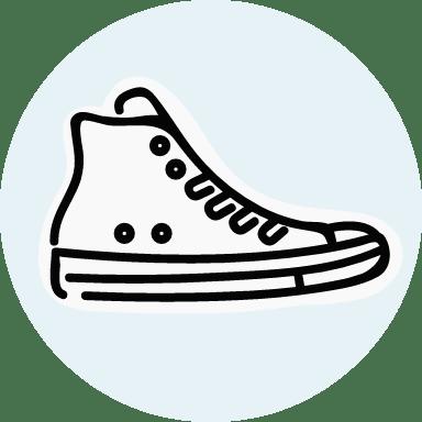 Basic Hi-Top Sneaker
