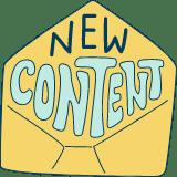 New Content Envelope
